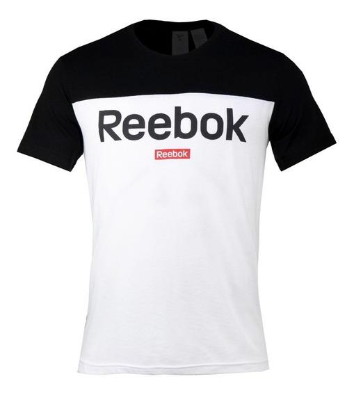 Playera Reebok Linear Logo Hombre