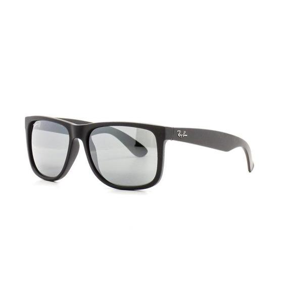 Oculos De Sol Ray Ban Justin Masculino Quadrado Dia A Dia