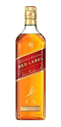 Whisky Escocés Johnnie Walker Rojo (1-litro) 100% Original