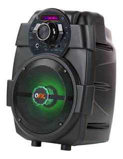 Parlante QFX PBX-5 portátil inalámbrico Negro
