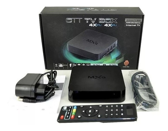 Receptor Smart Tv Box 4k Android Versão 7.1.2 Nougat Stv-200