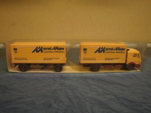 Caminhão Mercedes Benz Wiking Lkw Articulado 1/87