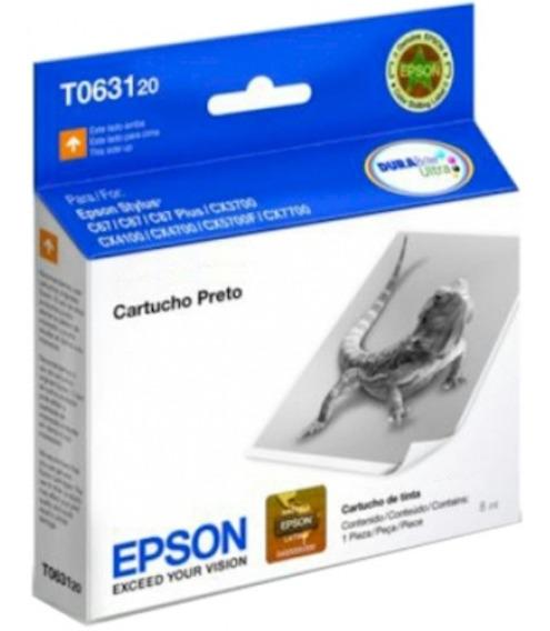 Cartucho Epson T063120 Preto Original 8ml