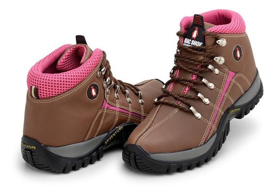 Tenis Infantil Adventure Fem Mac Shoe Boot Bota Trilha Masc.