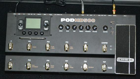 Pedaleira Guitarra Line 6 Pod Hd 500