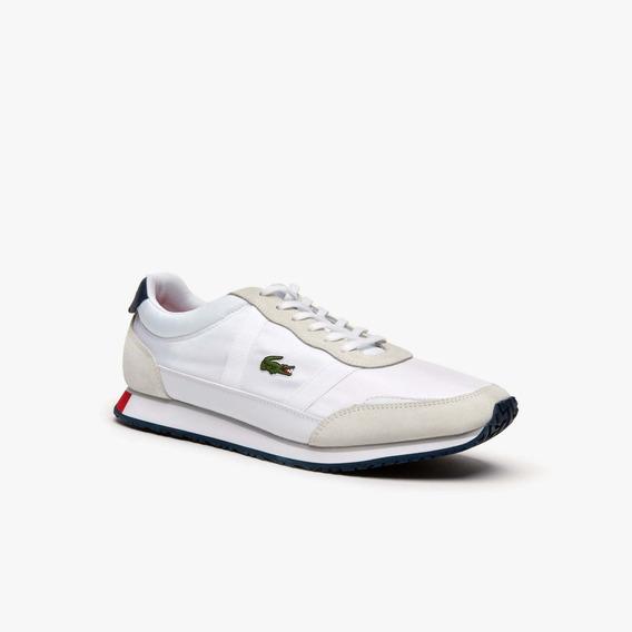 Tenis Lacoste Partner 37sma0043 Masculino Branco