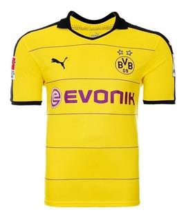 Camisa Puma Borussia Dortmund Home 2016 Aubameyang Réplica