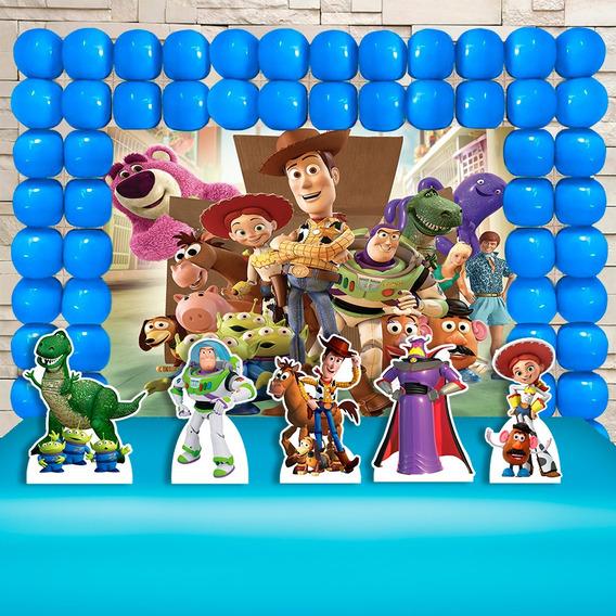 Kit Decoração Festa Infantil Toy Story,cenários