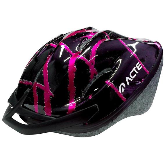 Capacete Para Ciclismo Adulto Acte A51-rs Rosa