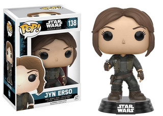 Funko Pop! Jyn Erso 138 -star Wars (vaulted)