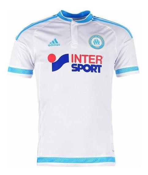 Camisa Masculina Olympique De Marseille Home 2016