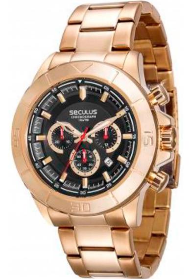 Relógio Seculus Masculino 28798gpsvda2