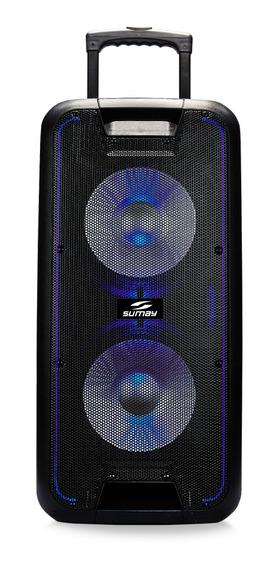 Caixa Amplificada 600w Titan Sm-cap15t Sumay