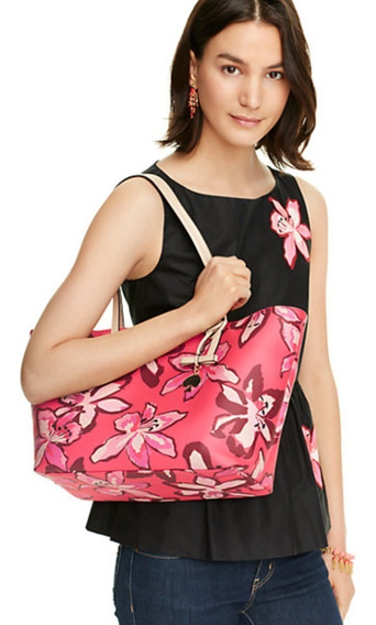 Bolsa De Mujer Kate Spade New York Color Rosa Floral