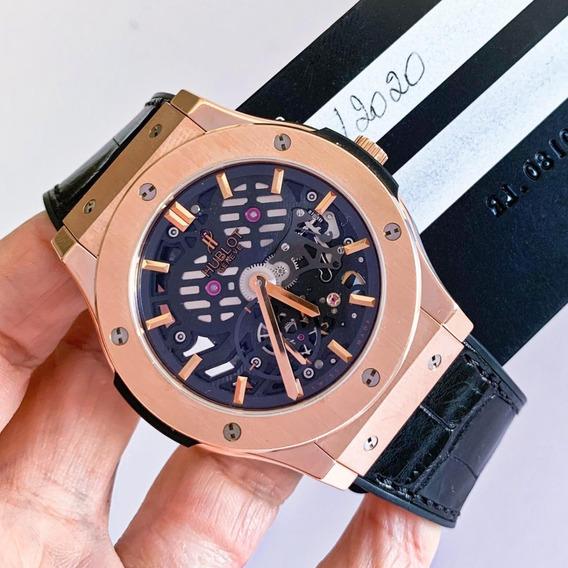Hublot Classic Fusion Skeleton Ouro Rosé 2020 45mm