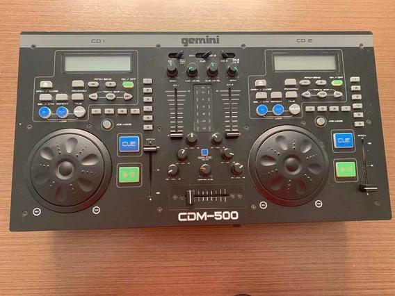 Mesa De Mixagem Gemini Cdm-500