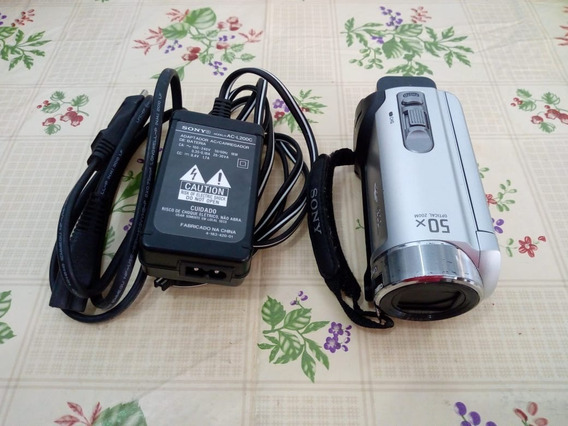 Filmadora Handycam Sony Dcr-sx20 - Acompanha Bolsa Bagaggio
