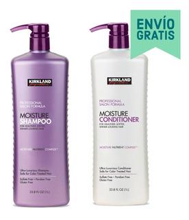 Pack Shampoo Acondicionador Hidratante 1 Lt C/u Kirkland