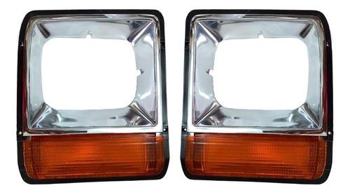 Imagen 1 de 5 de Bisel Cromado Dodge Pick Up Ram 80 81 82 83 84 Nuevo El Par