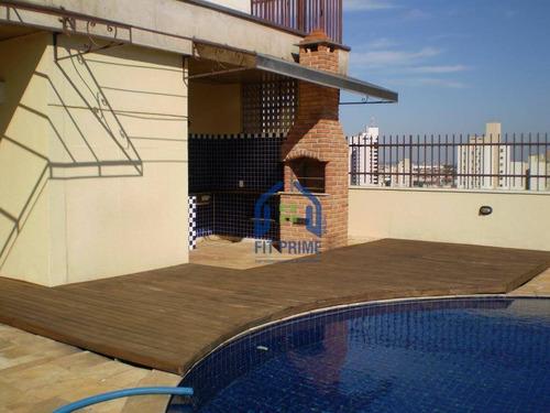 Apartamento Com 3 Dormitórios À Venda, 386 M² Por R$ 850.000,00 - Centro - São José Do Rio Preto/sp - Ap0295