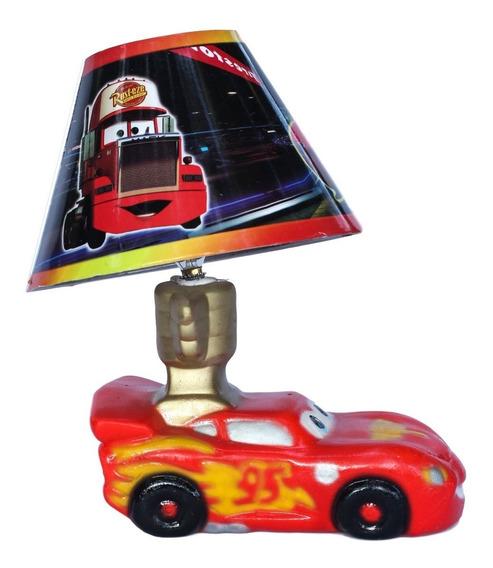 Lampara Cars Centro De Mesa Cars Fiesta Rayo Mcqueen Recuerd