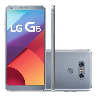 Smartphone Lg G6 H870 Platinum 64gb, 13mp (leia O Anúncio)