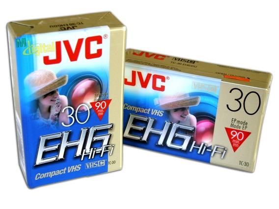 Fita Vhs Compacta Ehg 30 Hi-fi Ep Mode Ep - Lacrado!