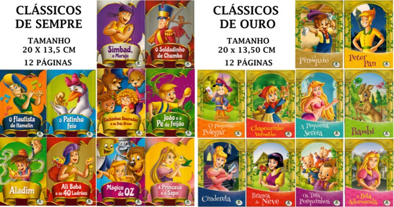 Kit Clássicos De Sempre + Clássicos De Ouro