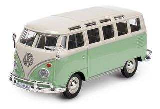 Maisto Volkswagen Van Samba Diecast Vehículo De Colección