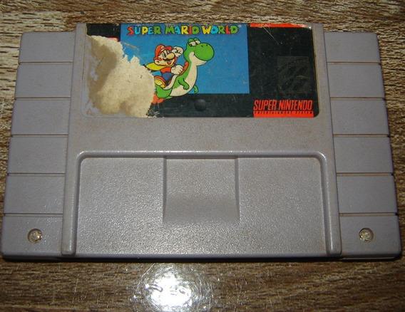 Super Mario World Cartucho Super Nintendo