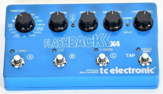 Pedal Tc Electronic Flashback X4 Delay & Looper Seminovo