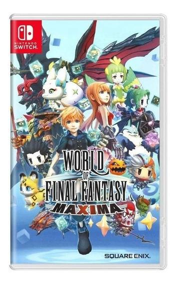 World Of Final Fantasy Maxima Switch Mídia Física Lacrado