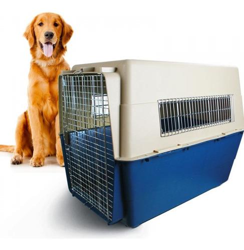 Imagen 1 de 10 de Kennel Transporte Perros Modelo 500 Iata Viaje Aereo Golden