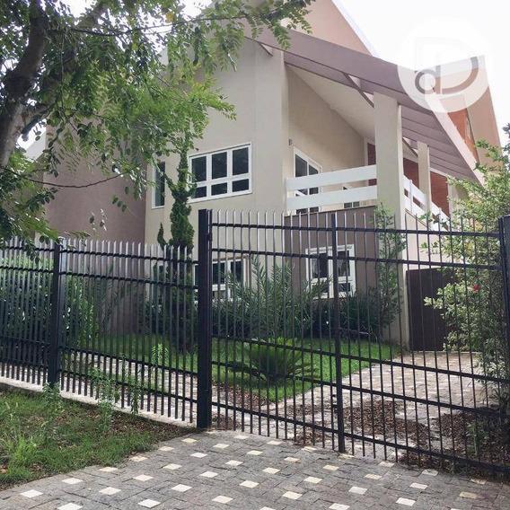 Casa Com 4 Dormitórios Para Alugar, 411 M² Por R$ 3.870,00/mês - Condomínio Vista Alegre - Café - Vinhedo/sp - Ca3137