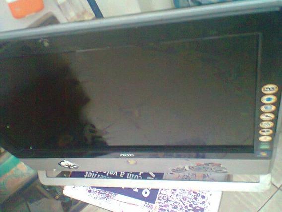 Computador All In One Aoc M92e Athlonx2 Queimado Sem Garanti