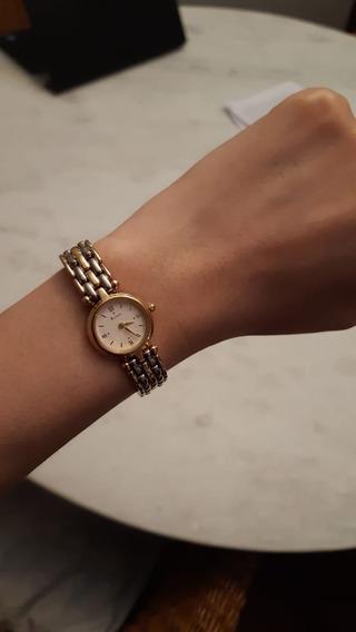 Relógio Feminino Bulova Aço E Ouro_ Autêntico