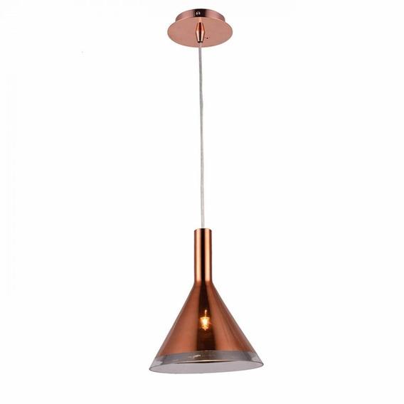 Pendente Bella Od018b Vidro Cobre Copper