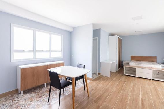 Studio No 6º Andar Com 1 Dormitório E 1 Garagem - Id: 892884000 - 184000