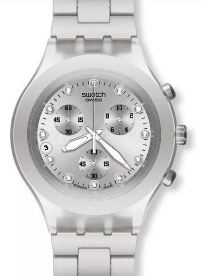 Relógio Swatch Swiss Feminino Prata