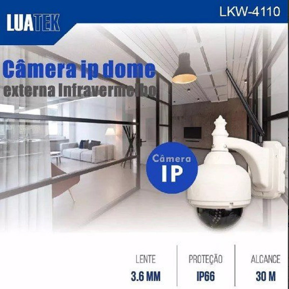 Mini Speed Dome Ip Câmera Externa Lkw-4110 720p Luatek