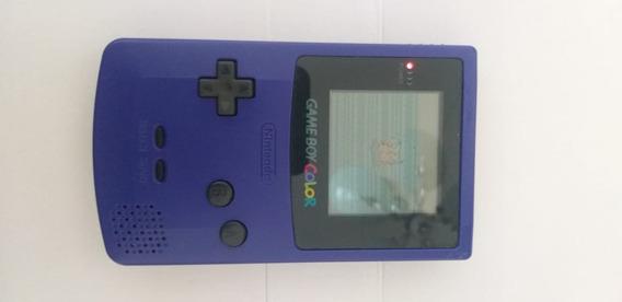 Game Boy Color Roxo + Fita Pokemon Yellow