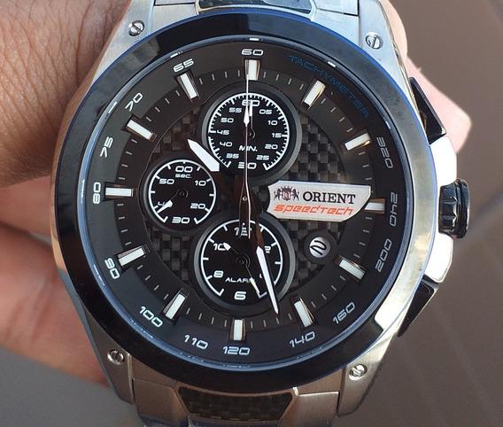 Relógio Orient Speed Tech Original Vidro De Safira Zerado