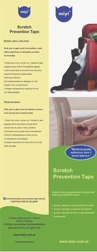 Rascador Cinta Antiscratch Sofa Mueble Futon Gatos Siames