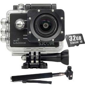 Kit Câmera Sj5000x Elite Wifi Sjcam Original +32gb Filmadora