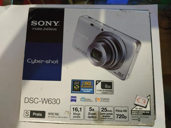 Câmera Sony 16mp Cyber Shot Dsc-w630 Na Caixa Perfeita