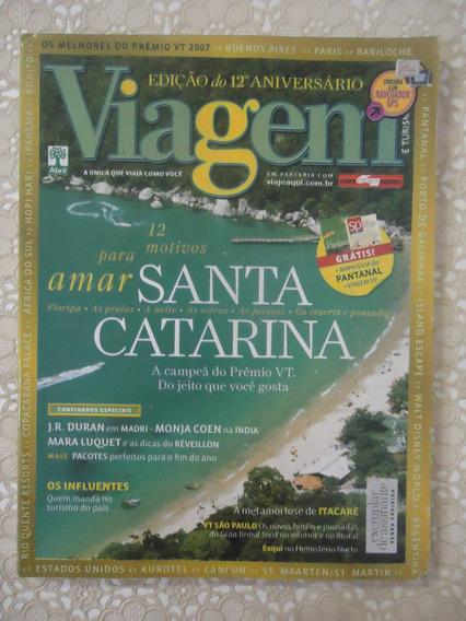 Viagem E Turismo #nov 2007 Santa Catarina, Pantanal, Frankfu