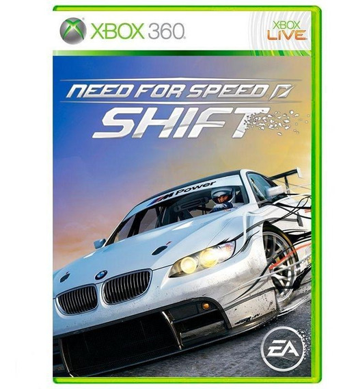 Need For Speed Shift Xbox 360 Mídia Física Pronta Entrega