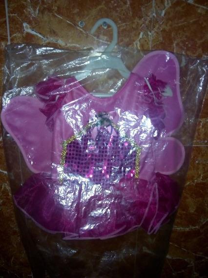 Disfraz De Niña Mariposa Talla 2