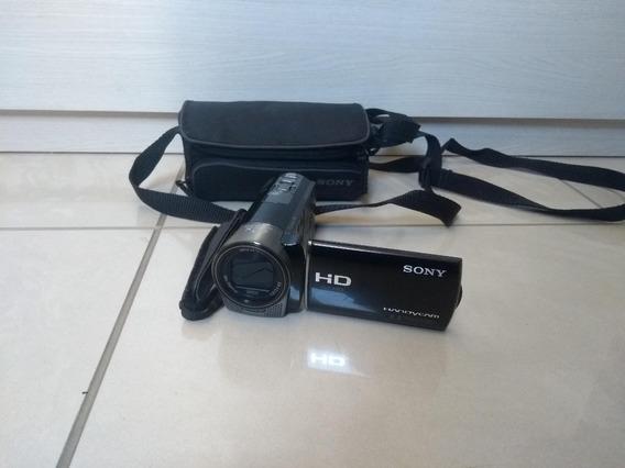 Filmadora Sony Hdr-cx160 + Bolsa Protetora