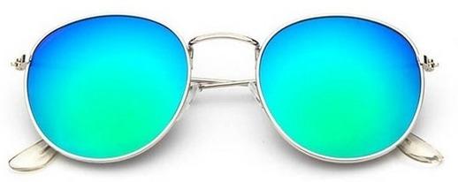 Oculos De Sol Feminino Original Espelhado Dourada Barato